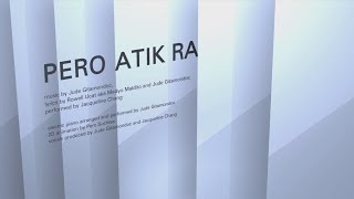 Jacky Chang - Pero Atik Ra (Official Lyric Video)