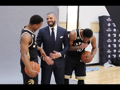 Drake x DeMar DeRozan x Kyle Lowry: SLAM 198 Cover Shoot