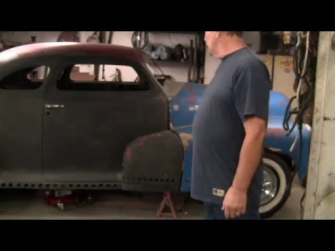 48 Chevy coupe hot rod project car chopped and channeled gasser