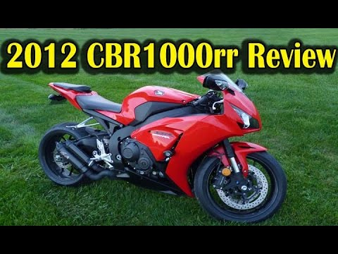 Why I Chose 2012 Honda CBR1000rr REVIEW   Best Street Bike