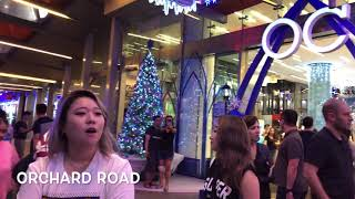 Orchard Road Singapore Christmas Light Up 2018 II Singapore Expo Electronic Sale II