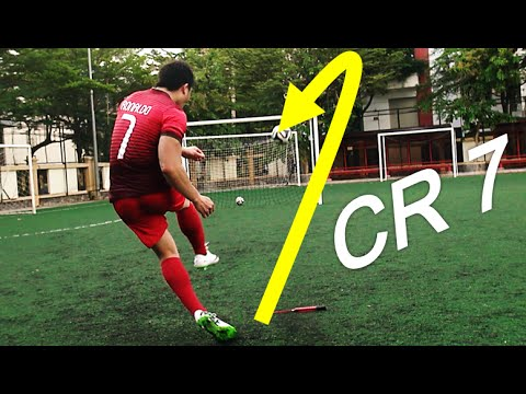 Cristiano Ronaldo Freekick video