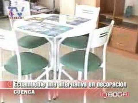 Ecuamueble una alternativa en decoración