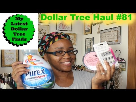 Dollar Tree Haul #81-NEW Items +Mini DT reviews