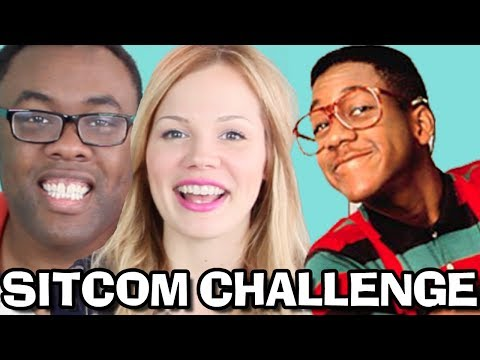 RETRO SITCOM CHALLENGE with LISBUG : Black Nerd