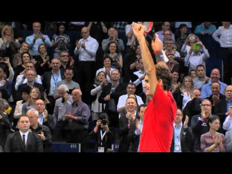 Moët Moments Federer Wins Basel