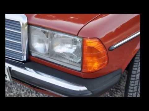 W123 MERCEDES BENZ-240 DİESEL ORJİNAL 83.000 KM-TAM BİR CLASSIC-RESTERASTON DEĞİL.