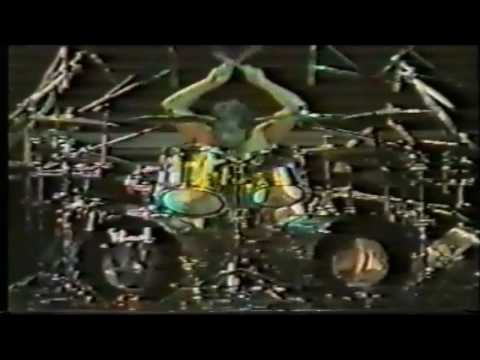 Skid Row - Rob Afusso's Drum Solo (Live at Budokan Hall 1992) HD