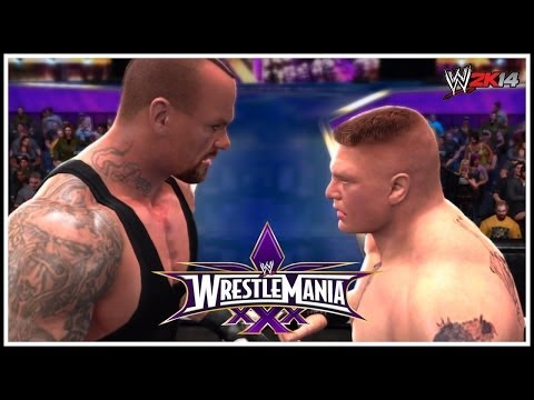 The Beast Challenges The Streak At Wrestlemania 30! (WWE 2K14)
