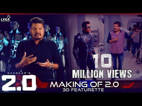 Making of 2.0 - 3D Featurette | Rajinikanth, Akshay Kumar | Shankar | A.R. Rahman | Lyca Productions thumbnail