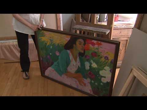 Արմեն Սարգսյանն այցելել է նկարիչներ Ռոբերտ Էլիբեկյանի և Անահ....