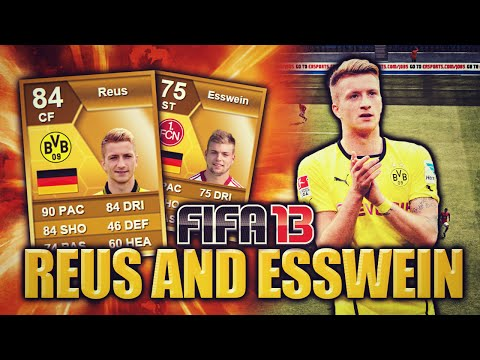 ESSWEIN AND REUS OP FIFA 13 ULTIMATE TEAM