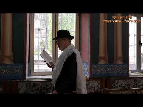 ברכת כוהנים החזן הרב אפרים אבידני בבהכנ''ס עדס חוה''מ פסח תשע''ט נהוונד