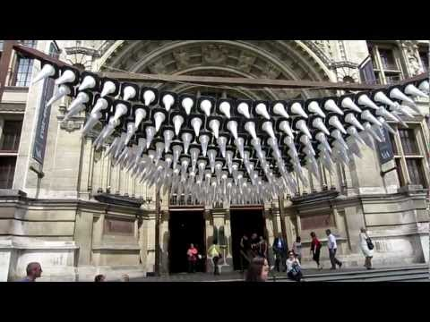 Heatherwick Studio - Traffic Cone Installation - V&A, London.