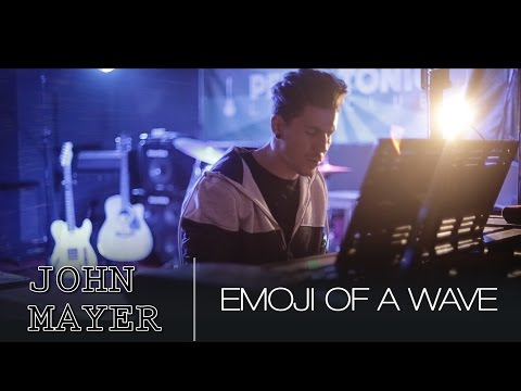 Emoji Of A Wave - John Mayer (Piano Cover)