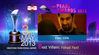 22 Female Kottayam - Pearl Awards 2013...!!! Best Villain | Fahad Fazil