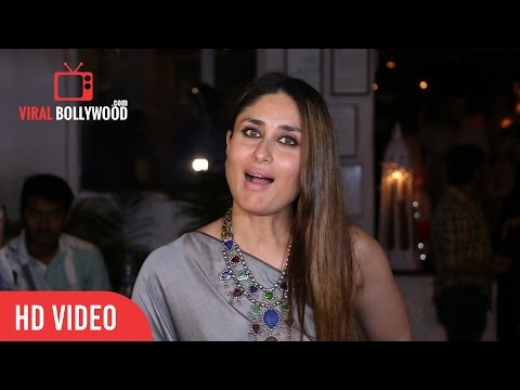 Kareena Kapoor At Ki & Ka Success Party | ViralBollywood Entertainment