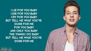 Download Lagu Charlie Puth & Kehlani - Done For Me (with LYRICS) Gratis STAFABAND