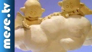 Auguszta a mennyországban (gyurmafilm, animáció gyerekeknek)
