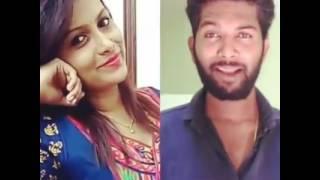 Kannada best dubsmash allu raghu and sushmitha