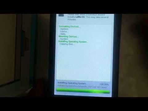 Quick and easy way to install Lewa ROM on Lenovo A390 100% working