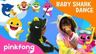Baby Shark Chases Kate - Swim and RUN AWAY!!!!! | Baby Shark Challenge