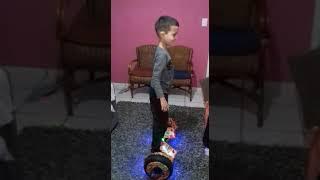 Gui e hoverboard