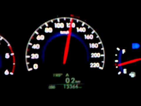 Hyundai Santa Fe 2.2 CRDi E-VGT 1/4 mile test