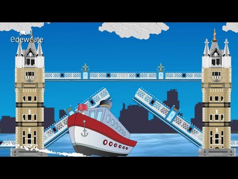 Edewcate english rhymes – London bridge is falling down