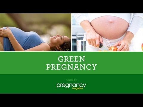 Green Pregnancy: Your Green Baby