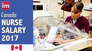 Nurse Salary in Canada | Jobs in Canada 2017