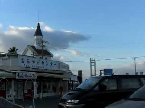 愛野展望台(長崎県雲仙市愛野町)