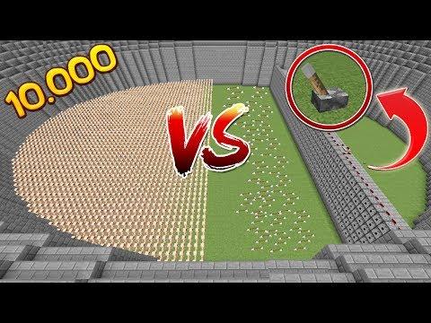10.000 НУБОВ ПРОТИВ 1000 РАЗДАТЧИКОВ РОЛЕВАЯ ИГРА АРЕНА МОБОВ! МЕГА МАШИНА 1000 СТРЕЛ!