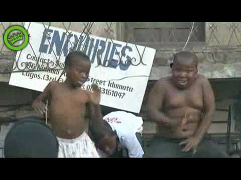 Two Nigerian Boys Dance