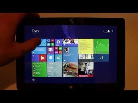Обзор и тестирование планшета Pipo W3 на Windowds 8.1 Intel z3775