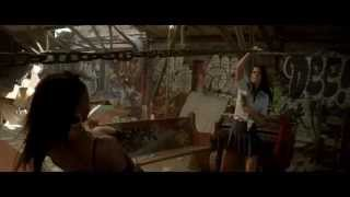 Brick Mansions 2014 - Lola vs. Rayzah fight scene (HD)