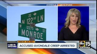 Man arrested for flashing himself to girls on Avondale