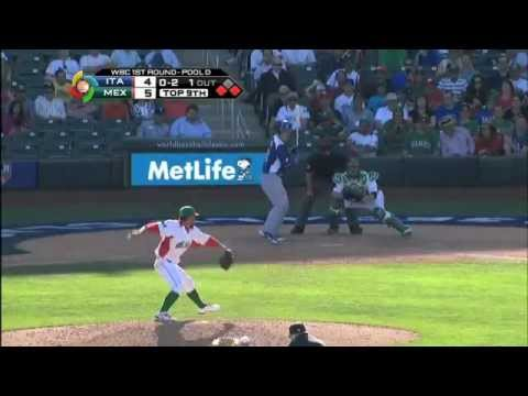 World Baseball Classic  Italia vs Mexico--Italia vs Messico