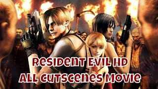 ☣Resident Evil 4 HD All Cutscenes Movie