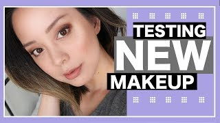 TESTING NEW MAKEUP from DERMABLEND, HOURGLASS, and SIGMA
