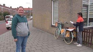 Krantenbezorger met verstandelijke beperking beroofd van fiets in IJmuiden | NH Nieuws