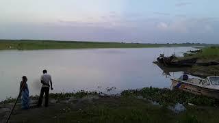India bangladesh Border at Jalangi Padda its open