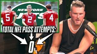 No QB On The Jets Roster Has An NFL Pass Attempt?!