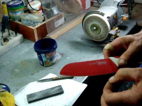 Заточка ножей. Керамические ножи.  Как заточить керамический нож. Немного о заточке, имхо практика.