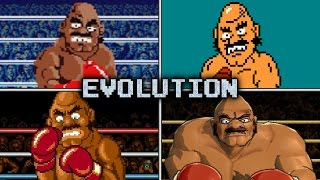Evolution of Bald Bull Battles in Punch-Out!!