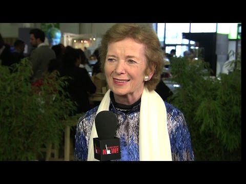 Mary Robinson on Int'l Human Rights Day: Climate Change is the Biggest Human Rights Issue There Is