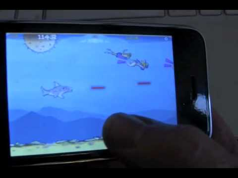 Game review of probably the BEST iPhone - iPod Touch - shoot em up i ve played!! check it out!!!!