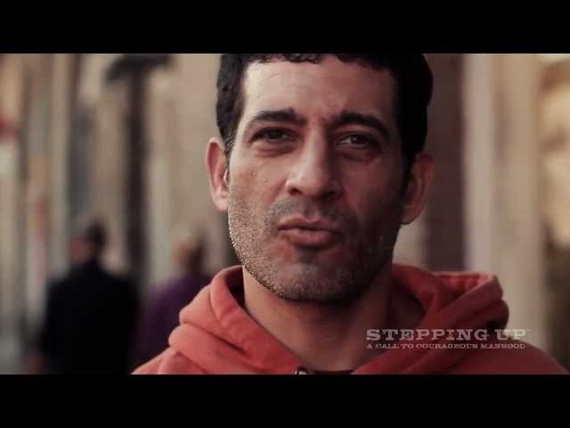 How Do YOU Define Courage? | Men on the Street | Stepping Up™