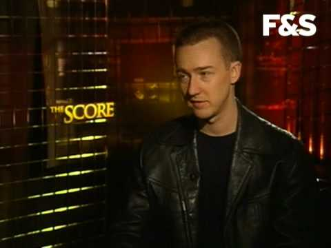 Edward Norton-The Score interview
