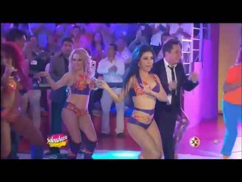 TECHY Y SU GRUPO AROMA - Amor de tres, Fuera,Aya ay ay, Se te nota